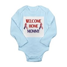 Welcome Home Mommy - Ribbon Long Sleeve Infant Bod