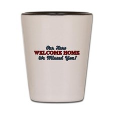 Our Hero Welcome Home Shot Glass