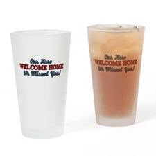 Our Hero Welcome Home Drinking Glass