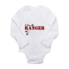 I Love My Ranger Baby Suit