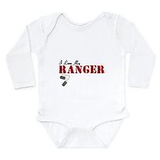I Love My Ranger Long Sleeve Infant Bodysuit