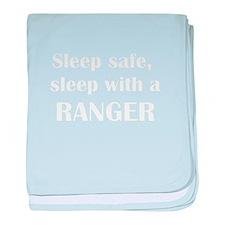 Sleep Safe Ranger baby blanket