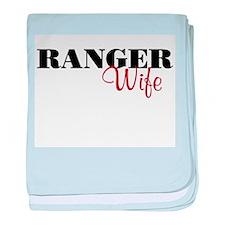 Ranger Wife baby blanket