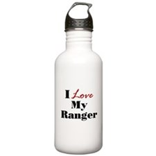 I Love My Ranger Water Bottle