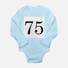 Ranger Wife 75 Long Sleeve Infant Bodysuit