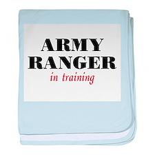Ranger in Training baby blanket