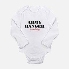 Ranger in Training Long Sleeve Infant Bodysuit