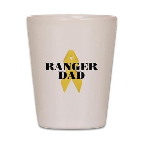 Ranger Dad Ribbon Shot Glass