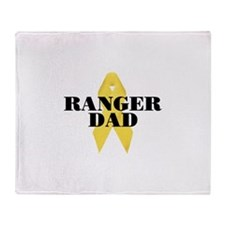 Ranger Dad Ribbon Throw Blanket