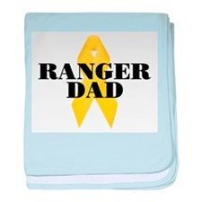 Ranger Dad Ribbon baby blanket