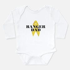Ranger Dad Ribbon Long Sleeve Infant Bodysuit