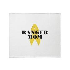 Ranger Mom Ribbon Throw Blanket