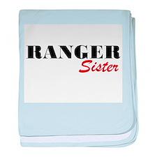 Ranger Sister baby blanket