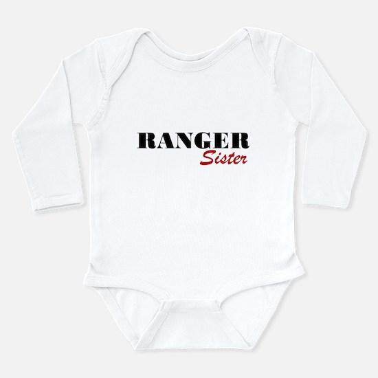Ranger Sister Long Sleeve Infant Bodysuit