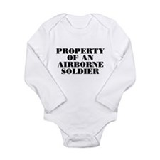 Property of an Airborne Soldi Long Sleeve Infant B