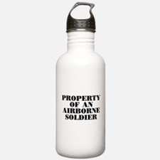 Property of an Airborne Soldi Water Bottle