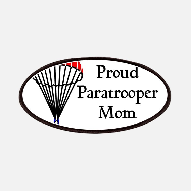 Proud Paratrooper Mom Patches