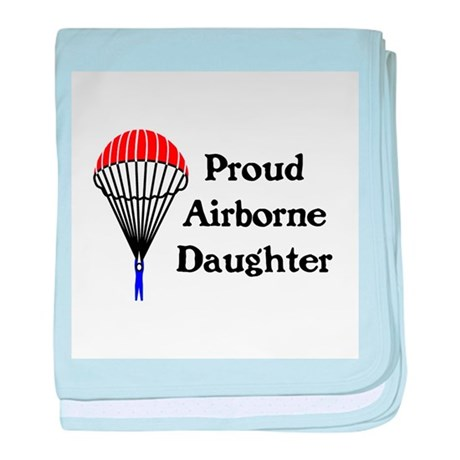 My dad jumps...daughter baby blanket