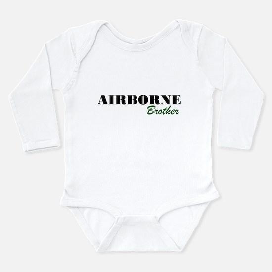 Airborne Brother Long Sleeve Infant Bodysuit