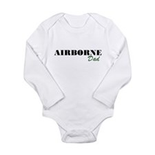 Airborne Dad Long Sleeve Infant Bodysuit