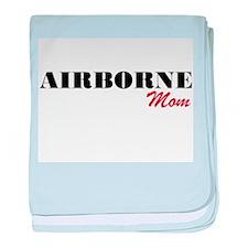Airborne Mom baby blanket