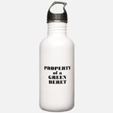Property of a Green Beret Water Bottle