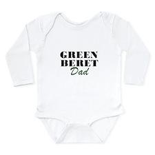 Green Beret Dad Long Sleeve Infant Bodysuit