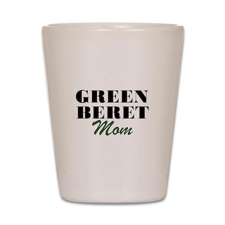 Green Beret Mom Shot Glass