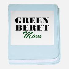 Green Beret Mom baby blanket