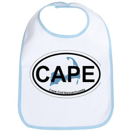 Cape Cod MA - Oval Design Bib