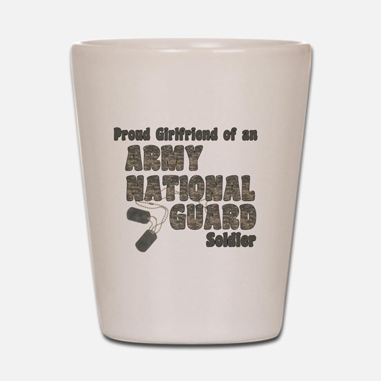 Unique Army national guard Shot Glass