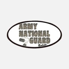 National Guard Dad (tags) Patches