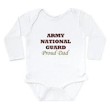 National Guard Proud Dad Long Sleeve Infant Bodysu