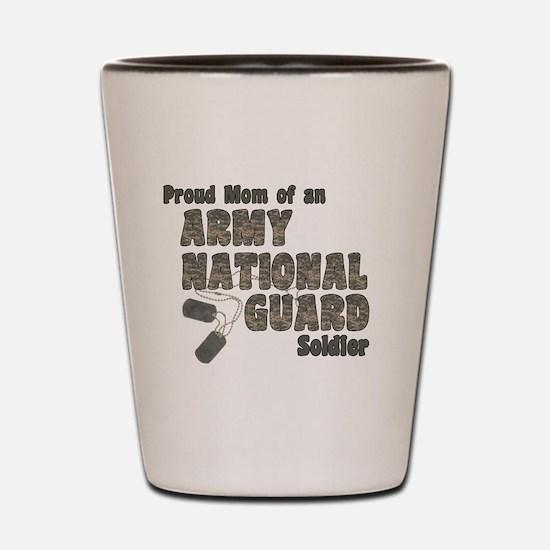 Cute Army national guard Shot Glass