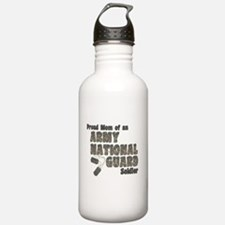 Cute Army national guard Water Bottle