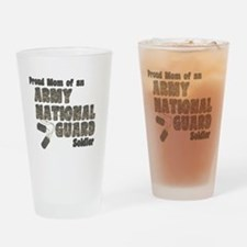 Cute Army national guard Drinking Glass