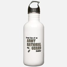 National Guard Son (tags) Water Bottle