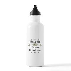 Proud Son National Guard Water Bottle