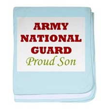 National Guard Proud Son baby blanket