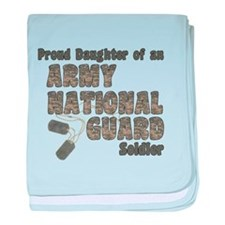 Unique Army national guard baby blanket