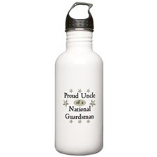Proud Uncle National Guard Water Bottle