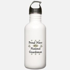 Proud Niece National Guard Water Bottle