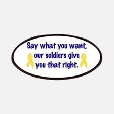 Soldiers Right Patches