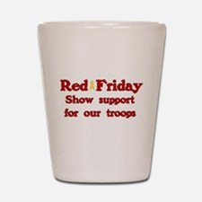 Red Friday Shot Glass