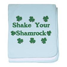 Shake Your Shamrock baby blanket
