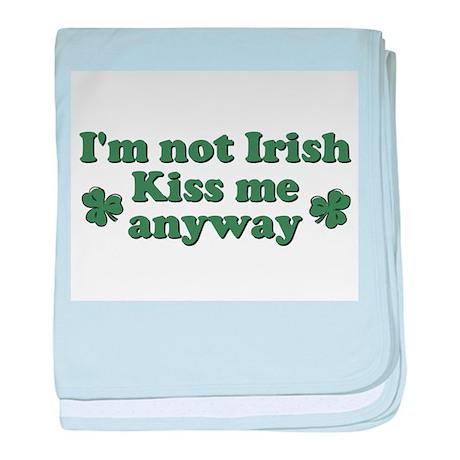 Not Irish baby blanket