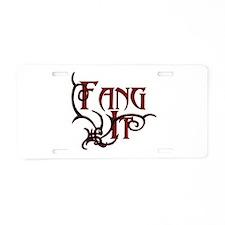 True Blood Aluminum License Plate