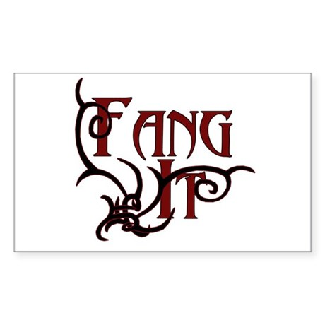 True Blood Sticker (Rectangle)