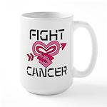 Fight Cancer Large Mug