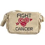 Fight Cancer Messenger Bag